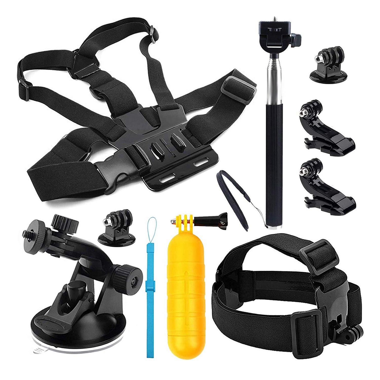 Camera Action Accessoires Kit pour Hero 7 Hero (2018) 6/5/4 Hero Session SJCAM SJ4000 SJ5000 SJ6000 AKASO EK7000 Apeman A70 APEM