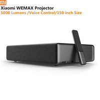 Xiaomi Mijia WEMAX Laser Home Theater Projector Full HD 5000 Lumens Voice Control Android 6.0 1080p 4K BT Wifi DOLBY DTS 3D