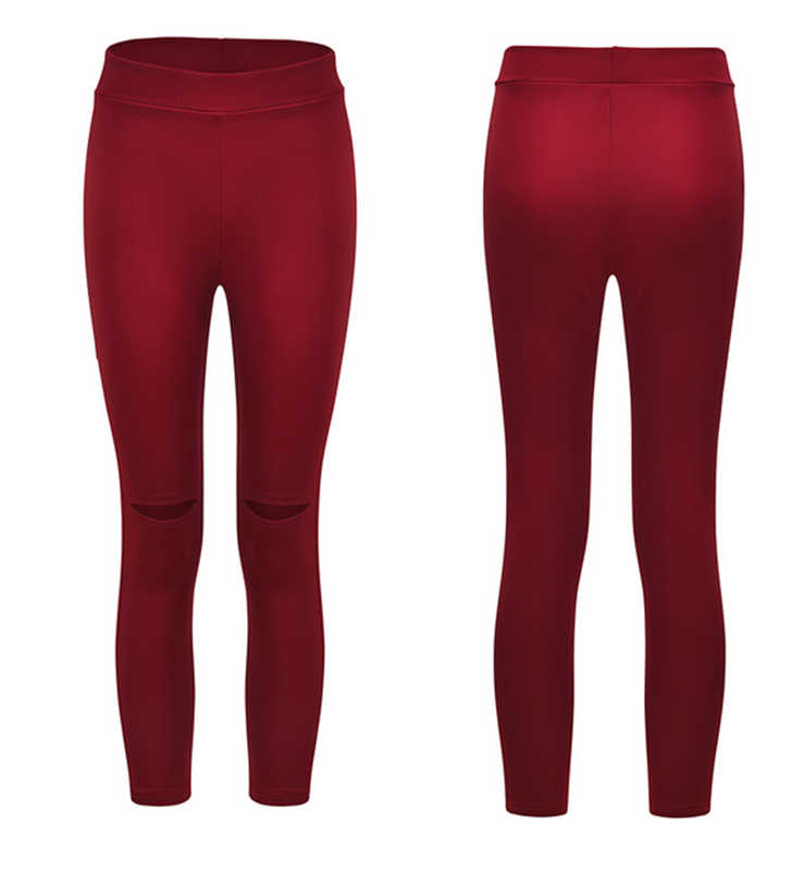 1d755fa535bf7 Womens Stretchy Ladies Slim Fit Ripped Skinny Jeggings Pants Trousers  Leggings Solid Casual Cloth