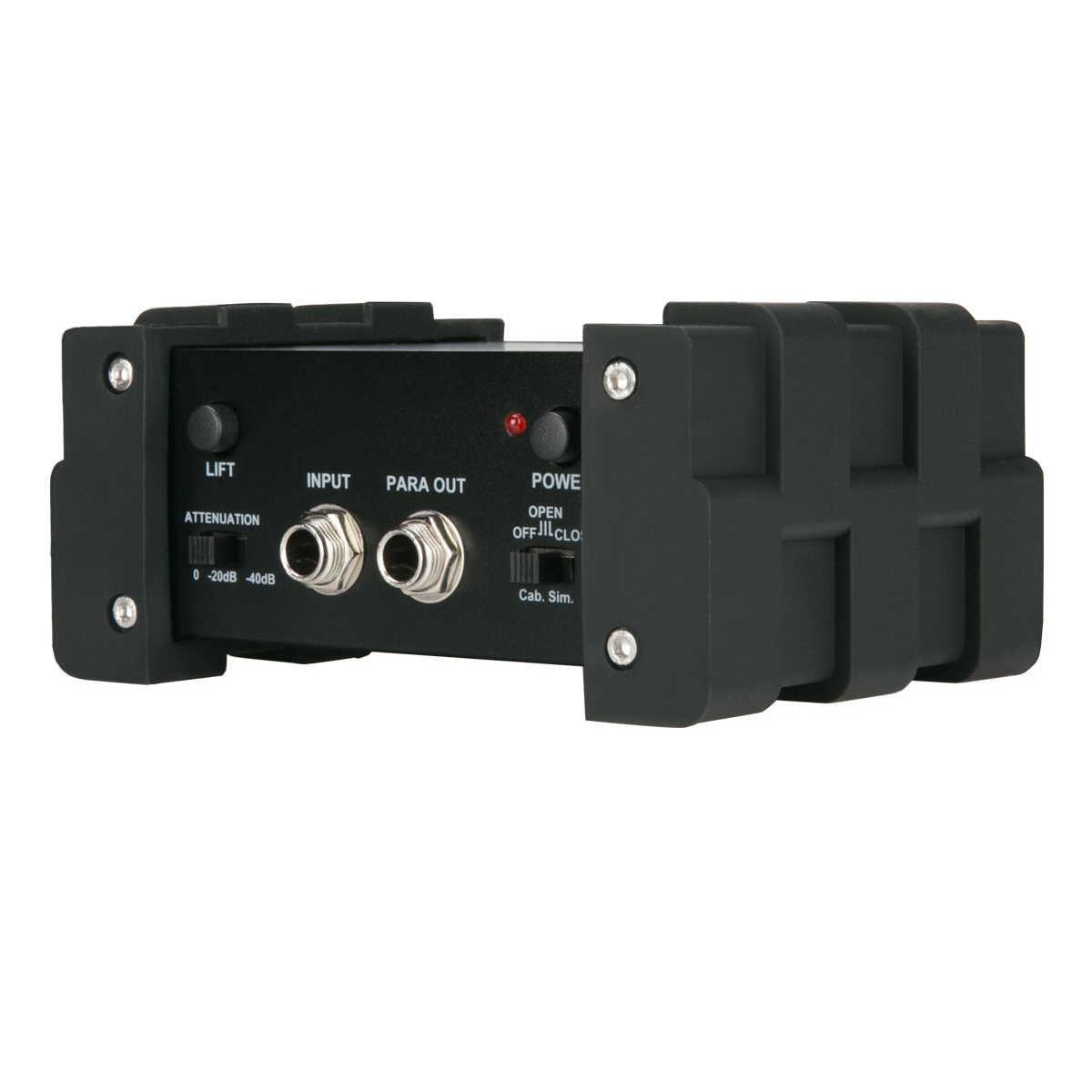Caixa de Guitarra NUX PDI-1G DI Injeção Direta Caixa de Alimentação Fantasma De Mixer De Áudio Para Fora Do Solo Elevador Design Compacto