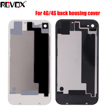 New Battery Cover For iPhone 4 4G 4S Replacement Back Case protective back case for iphone 4 4s silver black