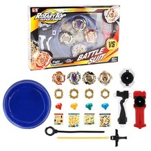 Top Beyblade Burst packaging Box Gift Arena Toys Sale Bey Blade Blade B-122 B-120 Launcher Bayblade Bable Drain Fafnir Blayblade(China)