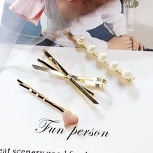AMSIC, женские золотые заколки для волос, 3 шт., заколка для волос, заколка для волос, инструменты для укладки волос, украшение, аксессуары для волос, Прямая поставка