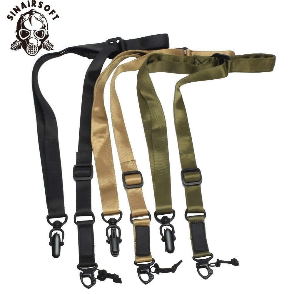 MS TWO Tactical Gun Sling Dynamics Anti-tearing Nylon Adjustable Strap With