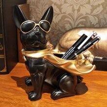 Классная ручка с собачкой держатель, настольный органайзер, Офисные аксессуары, контейнер для ручек