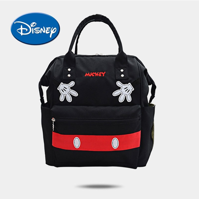 Disney Cartoon Diaper Backpack Fashion Multi function Mummy Maternity Nappy Bag Large Capacity Baby Nursing Bag