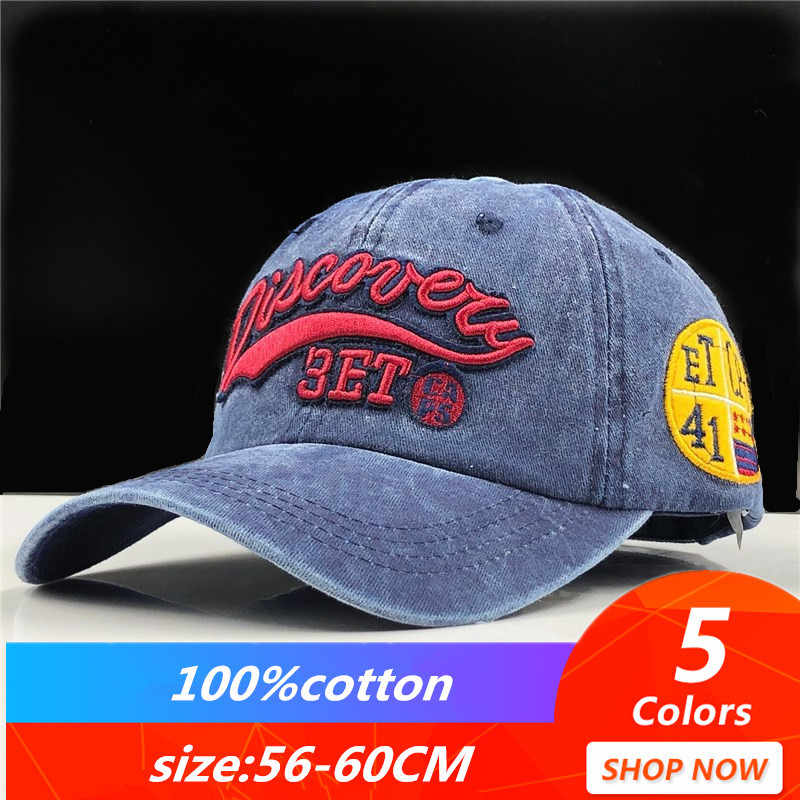 5d9555cb7 New Washed Cotton Baseball Cap 2019 Snapback Hat For Men Women Dad Hat  Embroidery Casual Cap