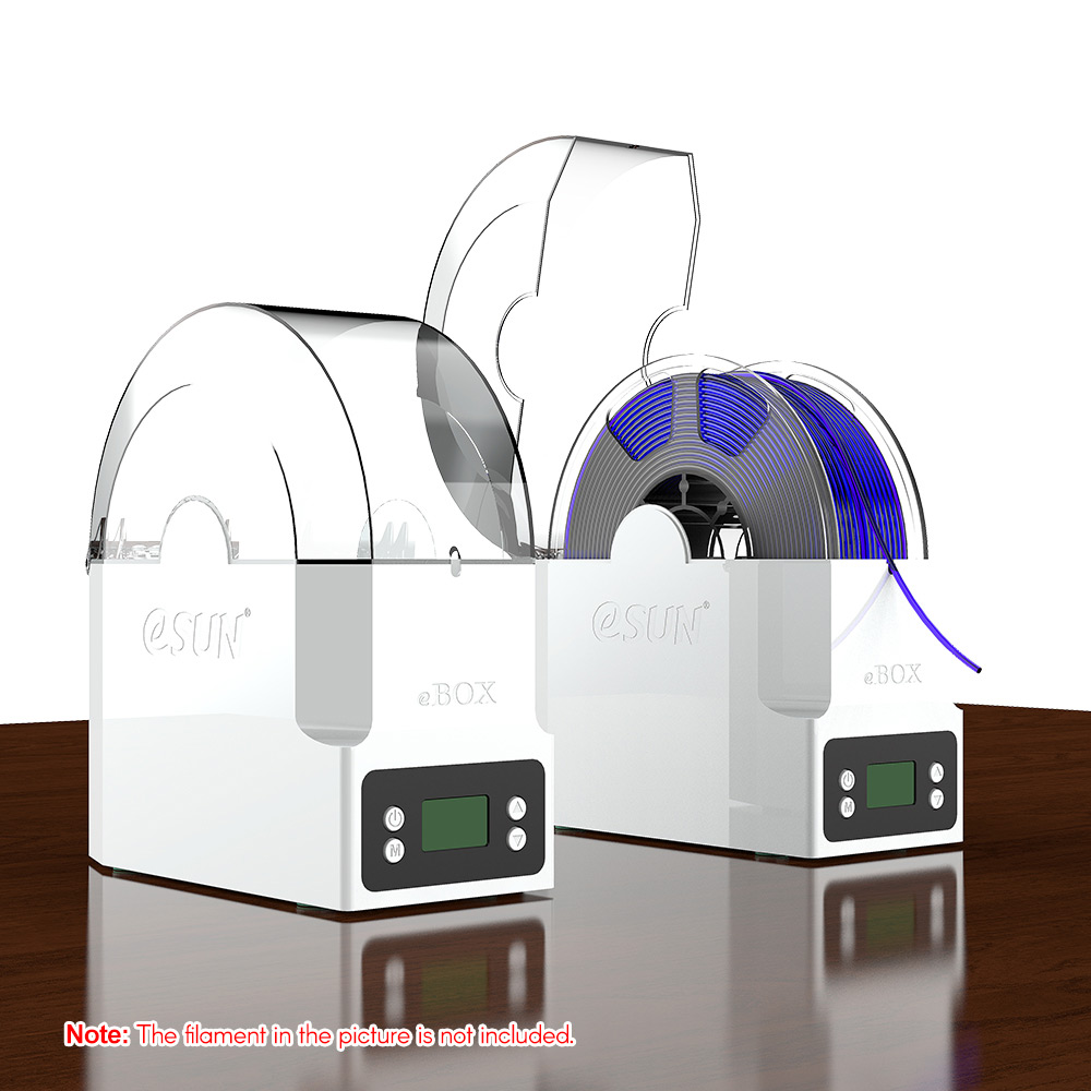 US $62 49 |eSUN eBOX 3D Printing Filament Box Filament Storage Holder  Keeping Filament Dry Measuring Filament Weight-in 3D Printing Materials  from