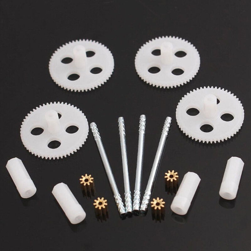 Motor Gear & Main Gears Set for RC Quadcopter Drone Syma X5 X5C X5SC Parts Gearset Gear High qualityMotor Gear & Main Gears Set for RC Quadcopter Drone Syma X5 X5C X5SC Parts Gearset Gear High quality