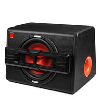 1200W Active Trapezoidal Overweight Car Audio Subwoofer Car Speakers Modified High Power Car Speaker 10 Inch Car Home