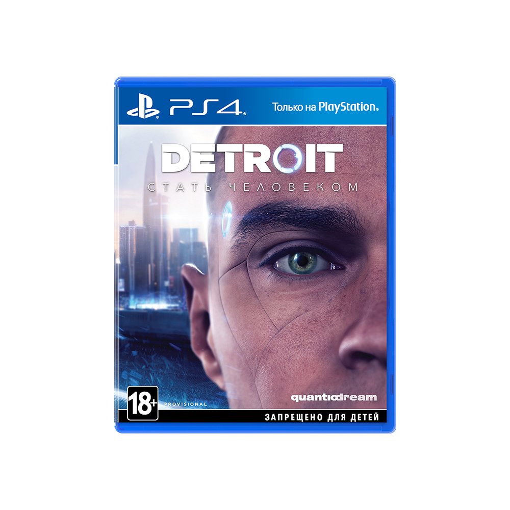Game Deals play station Detroit: Become a man for PS4 цена и фото