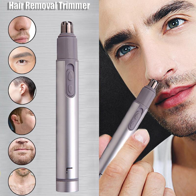 Brand New Portable Electric Nose Hair Trimmer Men's Nose Hair Removing Pincer Shaver Electric Nose Hair Trimming Device