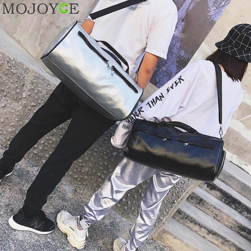 Reisetasche Pu Leder Paar Gepäck Taschen Für Männer 2018 Und Frauen Tragbare Große Kapazität Casual Vintage Wochenende Tasche Neue Gesundheit Effektiv StäRken