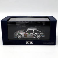 1:43 EBBRO Toyota AE86 S For JGTC Racing 1999 Resin Toys Car Diecast Models Silver