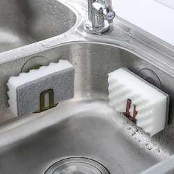 Бесплатная доставка Высокое качество ABS ПВХ присоски решетка для слива раковины подставка для губок держатель Кухня Раковина Мыло утечка