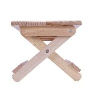 Image 5 - Переносное пляжное кресло, простой деревянный складной стул, уличная мебель, стулья для рыбалки, современный Маленький стул для кемпинга