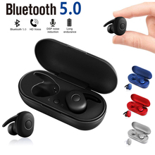 DT-1 TWS Wireless Mini Bluetooth Earphone For Xiaomi Huawei Mobile Stereo Earbud Sport Ear Phone With Mic Portable Charging Box azexi new style true wireless bluetooth earphone mini twins in ear stereo tws with charging box for samsung apple huawei xiaomi