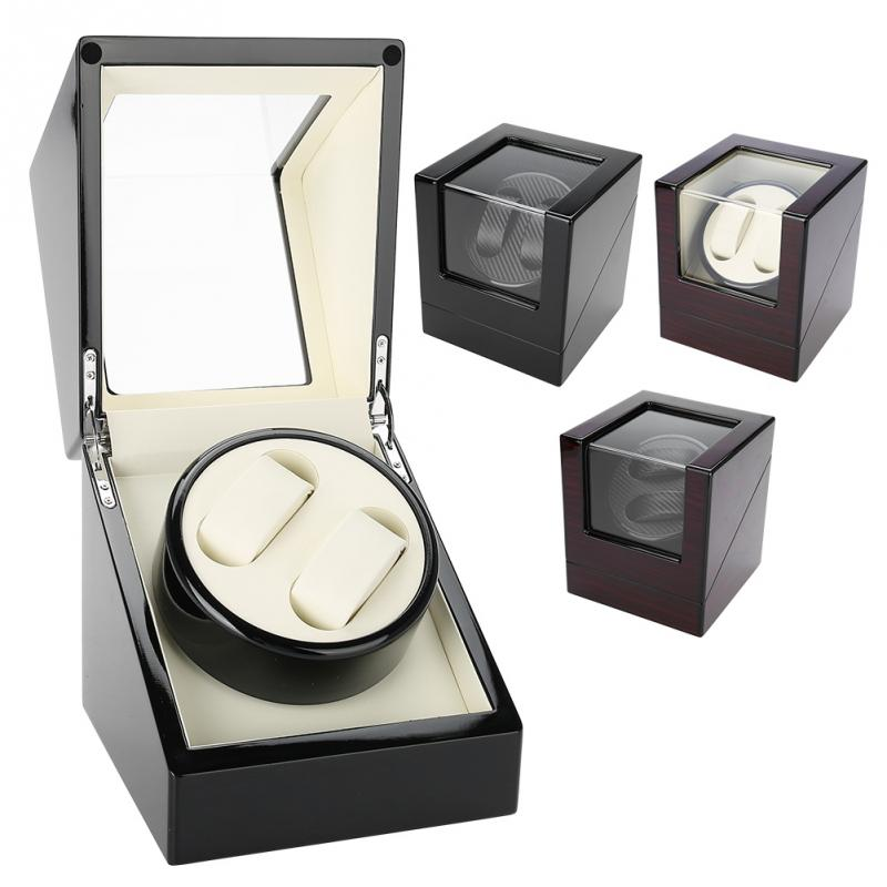 EU US AU UK Plug Class Watch Winder Motor Shaker Watch Winder Holder Display Automatic Mechanical