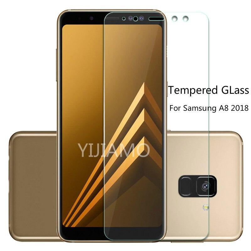 Tempered Glass For Samsung Galaxy A8 2018 A530 A530f 2.5D Screen Protector For Samsung Galaxy A8 2018 SM-a530F Protective Flim