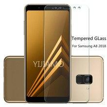 Verre trempé pour Samsung Galaxy A8 2018 A530 A530f 2.5D protecteur décran pour Samsung Galaxy A8 2018 SM a530F Flim de protection