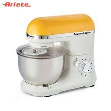 Кухонная машина Ariete 1594/02 Gourmet Rainbow, 6 скоростей, насадки для взбивания, смешивания и замешивания теста, объем чаши 4 литра
