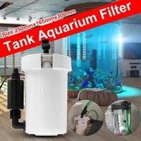 1 шт HW-603BL 6 W внешний корпусный фильтр столешницы аквариума 400L/h мини аквариум внешний корпусный фильтр