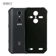 Matte Black Case Voor AGM A9 A9 JBL H1 Soft TPU Silicone Cover Shockproof Back Kleur Cover voor agm x3 Telefoon Bescherming Case(China)
