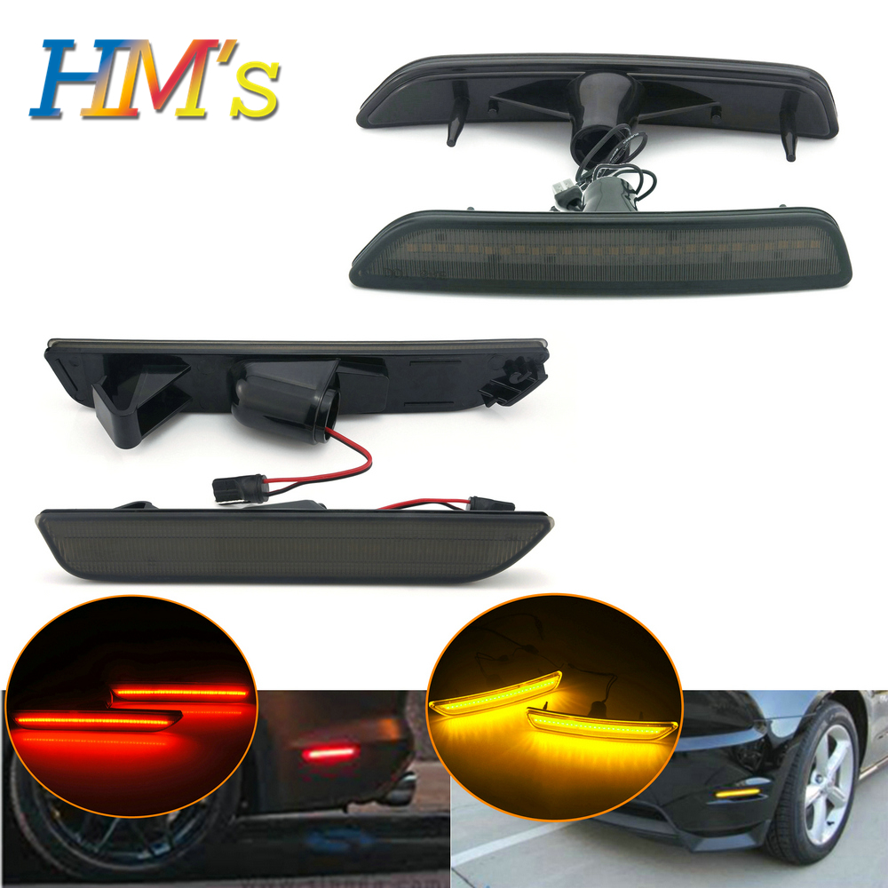 For Ford Mustang 2010 2011 2012 2013 2014 Front Rear Tail Side Marker Lamp Signal Light