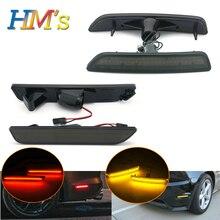 Для Ford Mustang 2010 2011 2012 2013 спереди и сзади хвост Авто Боковой габаритный фонарь сигнала светильник для Ford Mustang светодиодный 12V автомобильные аксессуары