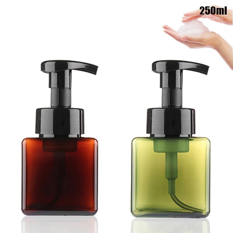 c20bc728c125 US $3.63 |Foaming Soap Dispenser Bottle Facial Cleaner Foam Maker Bottle  Portable Travelling Soap Foaming Bottle 250ml Makeup Tools-in Liquid Soap  ...