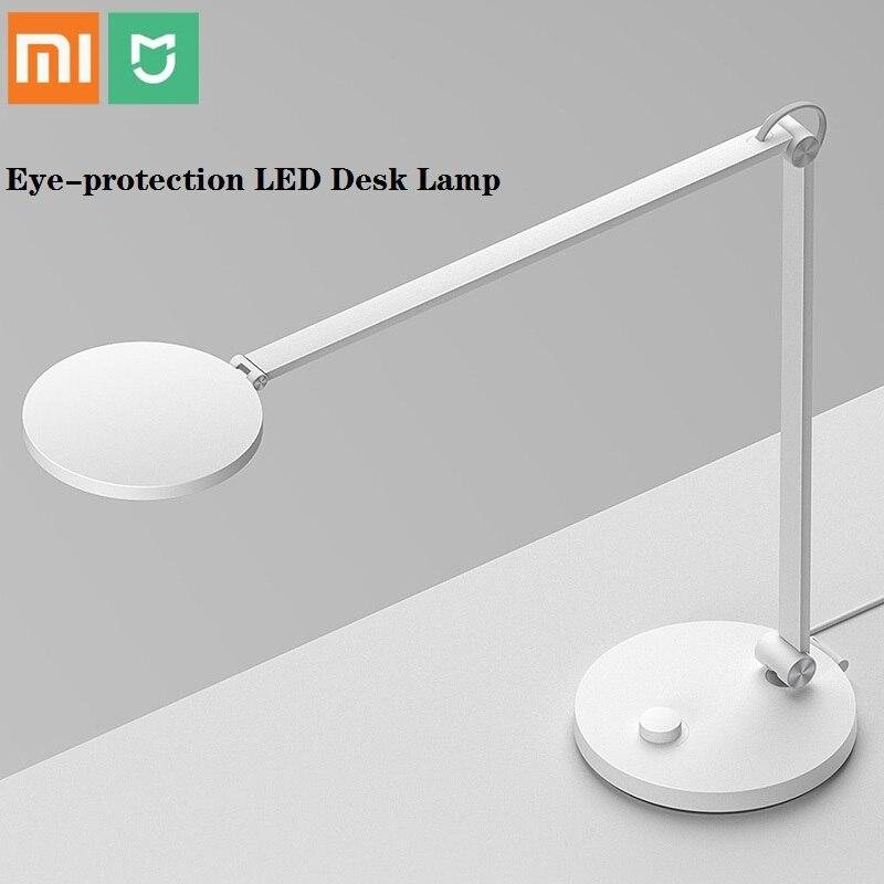 Xiaomi Mijia lampe de bureau Portable LED protection des yeux Bluetooth Wifi APP lampe de Table à télécommande vocale fonctionne avec Apple HomeKit