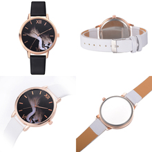 Women Genuine Leather  Ultra-Thin Quartz Watch Ladies Watch Women Watches  2019  Luxury стоимость