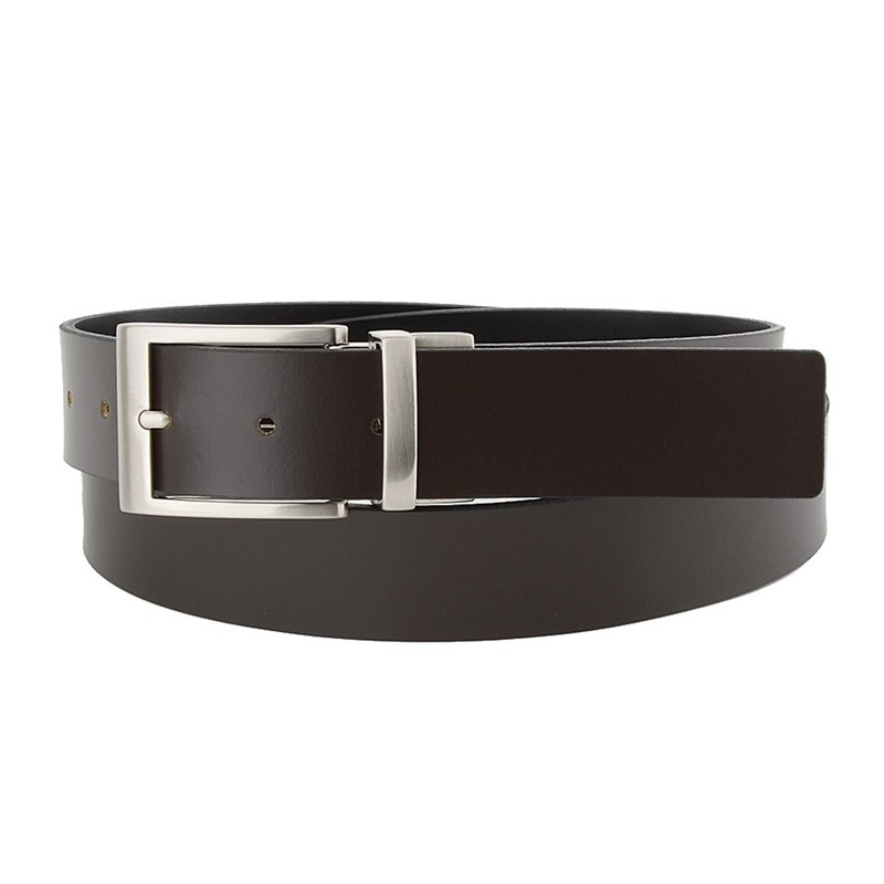 Belt pants Sergio Belotti 9375/35 Nero/T. Moro ремни sergio belotti 4460 40 t moro