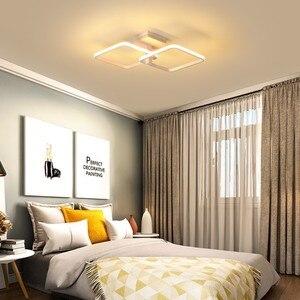 Image 5 - جديد LED ضوء السقف لغرفة المعيشة غرفة الطعام غرفة نوم عكس الضوء مع البعيد الأبيض القهوة الإطار تركيبة إضاءة lamvillage دي تيكو