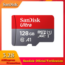 SanDisk Micro SD Card 16GB 32GB 64GB 128GB 256GB 400GB Memory Card C10 U1 A1 Flash TF Microsd Card for Phone Computer SDXC SDHC(China)