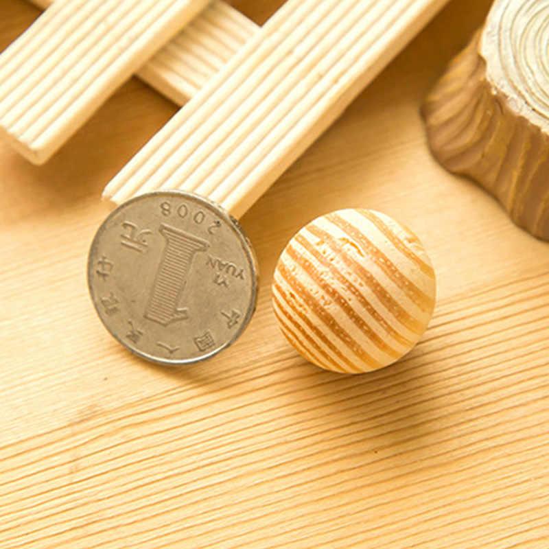 2020 新着臭い杉蛾防虫 5 ピース/セットラウンドボール耐久性のある木材ブック服樟脳ボール引き出し