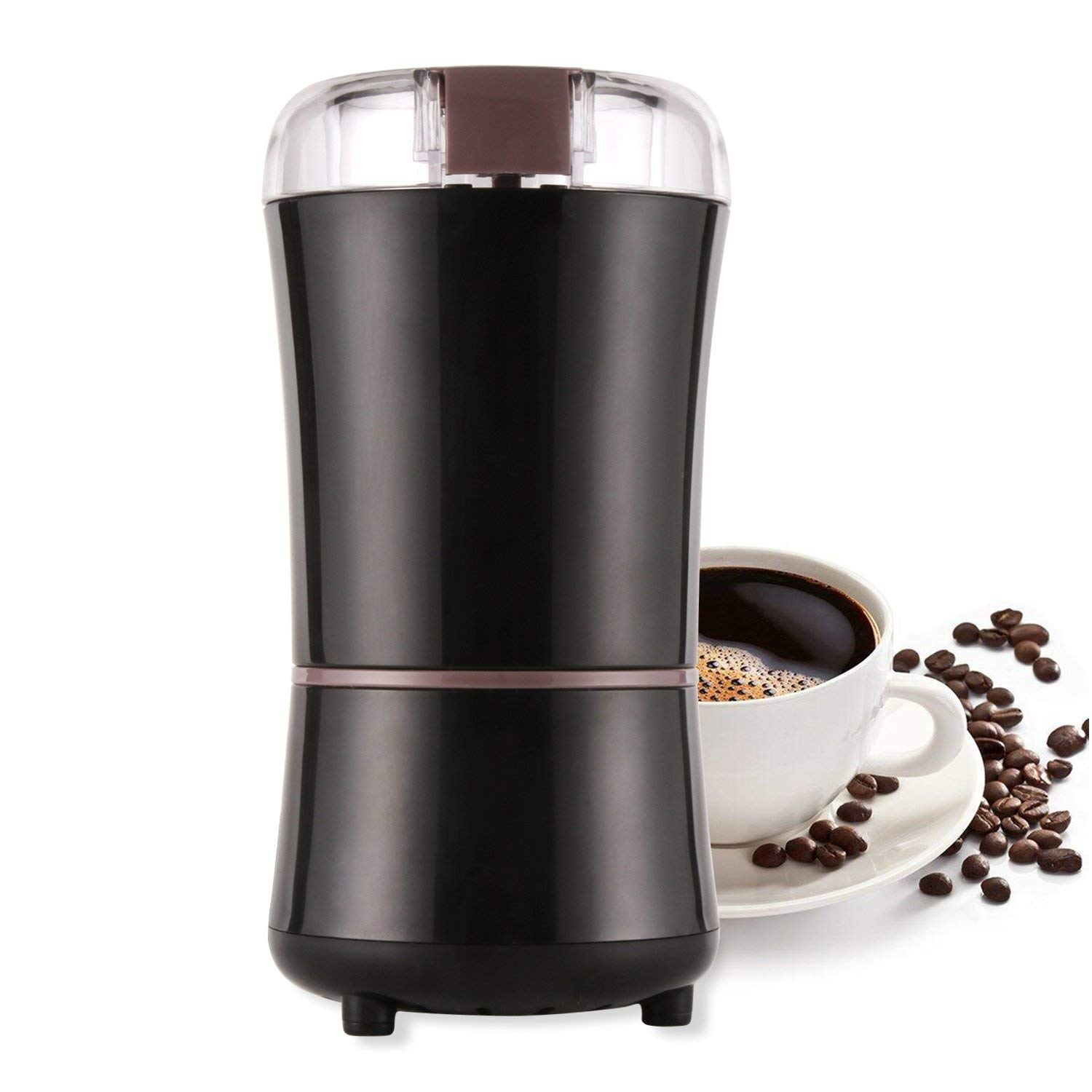 Electric Coffee Mill For Linseed Pepper Spices and Coffee Seeds Coffee Crusher (EU Plug)Electric Coffee Mill For Linseed Pepper Spices and Coffee Seeds Coffee Crusher (EU Plug)