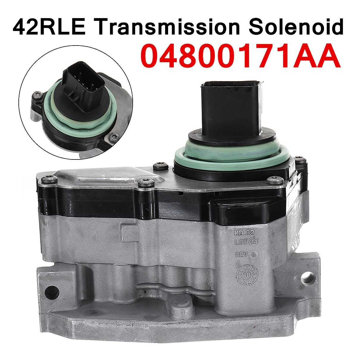 04800171AA 42RLE Transmission Shift Solenoid Block Pack Fits for Dodge-Chrysler Excellent Mechanical Stability 15x10x13cm04800171AA 42RLE Transmission Shift Solenoid Block Pack Fits for Dodge-Chrysler Excellent Mechanical Stability 15x10x13cm