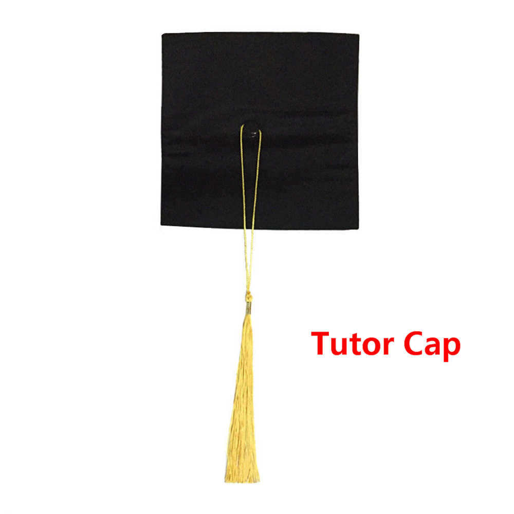 قبعات تخرج للأساتذة والمعلمين والمعلمين قبعات مضحكة للأحزاب المتخرجة دعائم مصورة للرجال والنساء جورو بونيه 2