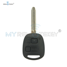 Remtekey For Toyota wish picnic avensis verso previa tarago Remote Key 2003 -2009 2 Buttons 304 mhz 4d67 Chip Toy43 key blade for 2003 2005 toyota avensis verso 2 0l lambda probe oxygen sensors dox 0261