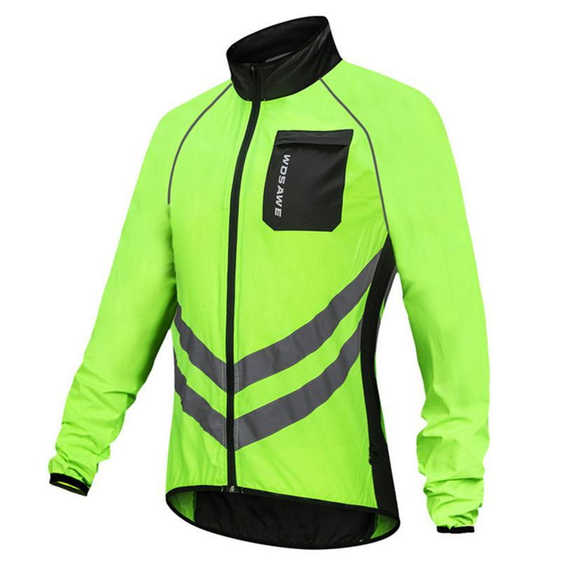 983cc2b52 Detail Feedback Questions about Thin Reflective Windproof Cycling Jackets  Men Women Riding Waterproof Bike Long Sleeve Jerseys Wind Coat Outdoor  Clothing on ...