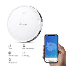 DEALDIG Robvacuum 8 Robotic Vacuum Cleaner 1000 Pa Strong Suction Aspirator Wireless Work For Alexa App Remote Control(China)