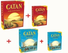 Catan Board Game: Trade Build Settle 5.0 Version / Seafarers Catan Party Game
