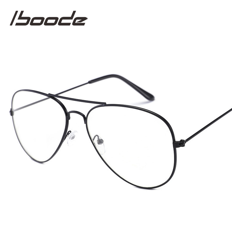 Iboode Vintage Children Spectacles Eyewrear Glasses Frame Kid Boys Girls 2019 Retro Clean Lens Child Eyeglasses Punk Style