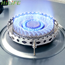 HILIFE Stainless Steel Windproof Round Mesh Stove Accessories Aggregate Flame Energy