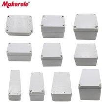 цена на M3 Series Plastic Junction Box IP65 Waterproof Electrical Box ABS Material Case Elektronic Project Weatherproof Enclosure Box