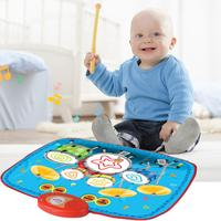 55*42cm Mini Drum Music Blanket Children Educational Toy, Easy To Fold , Multiple Instrumental Sounds Perfect Gift For Kids