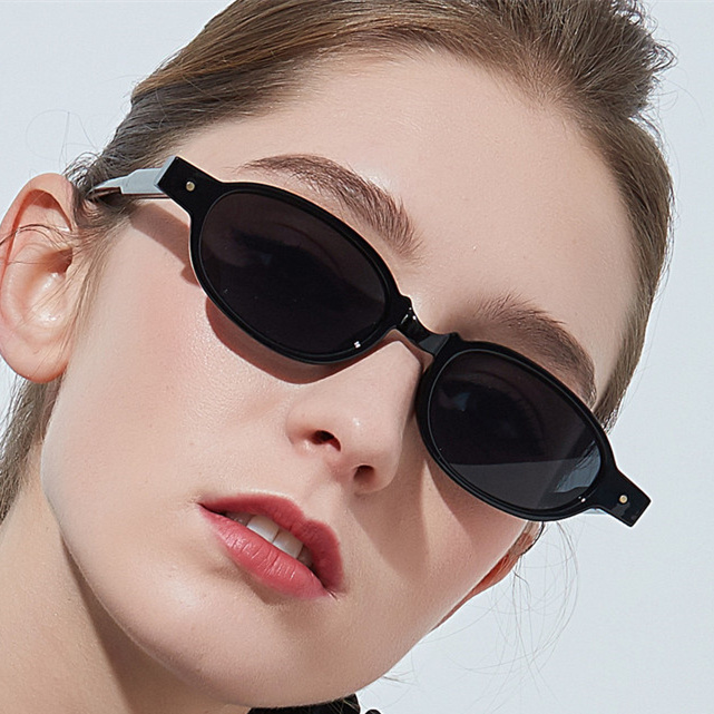 XojoX ovalado de moda gafas de sol mujer Marca Diseño de gafas de sol Retro damas Steampunk gafas para hombres espejo gafas de UV400