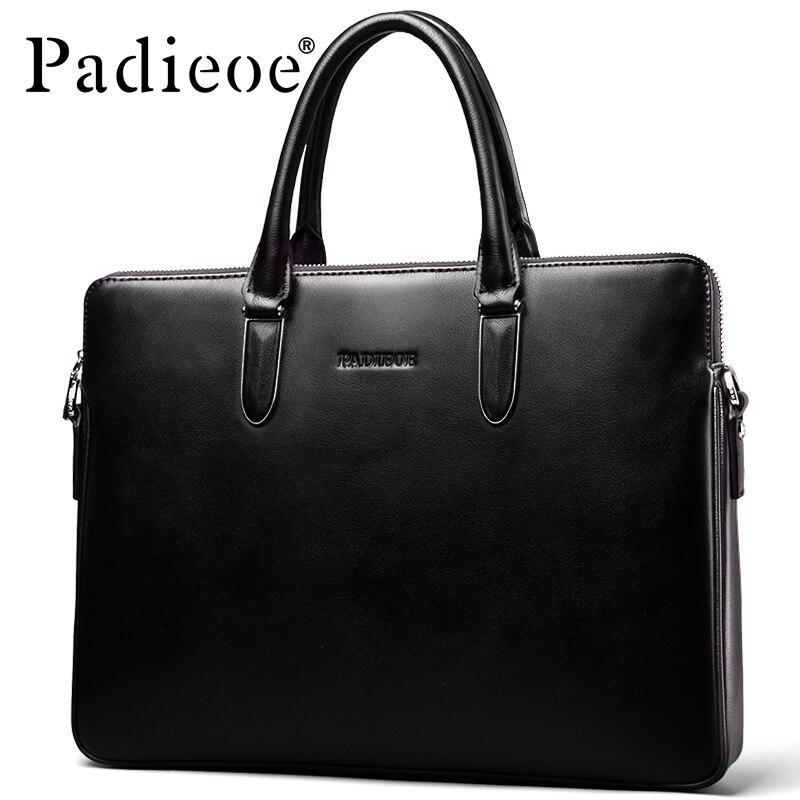 Padieoe Bag Briefcase Computer-Bag Messenger Handbag Men Purses Jobs