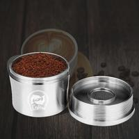 Stainless Steel Coffee Capsule Cup Filter Concentrated Coffee Powder Home, Bar, Office, Cafe, etc Hammer Set